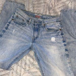 Levi's denizen 283 slim fit jeans